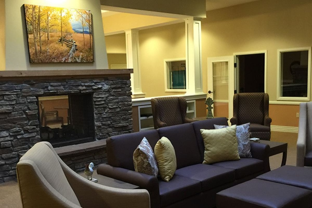 Lobby at New Dawn Memory Care in Colorado Springs, Colorado