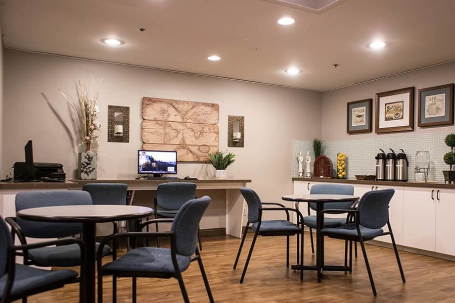 Spacious office area at The Commons at Woodland Hills in Woodland Hills, California
