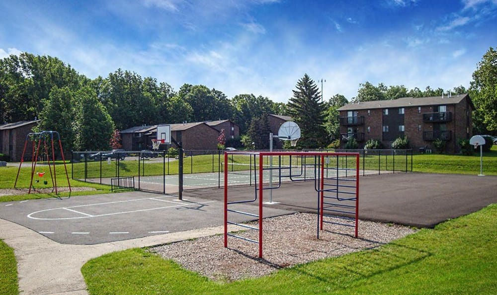 Playground in our High Acres Apartments and Townhomes community