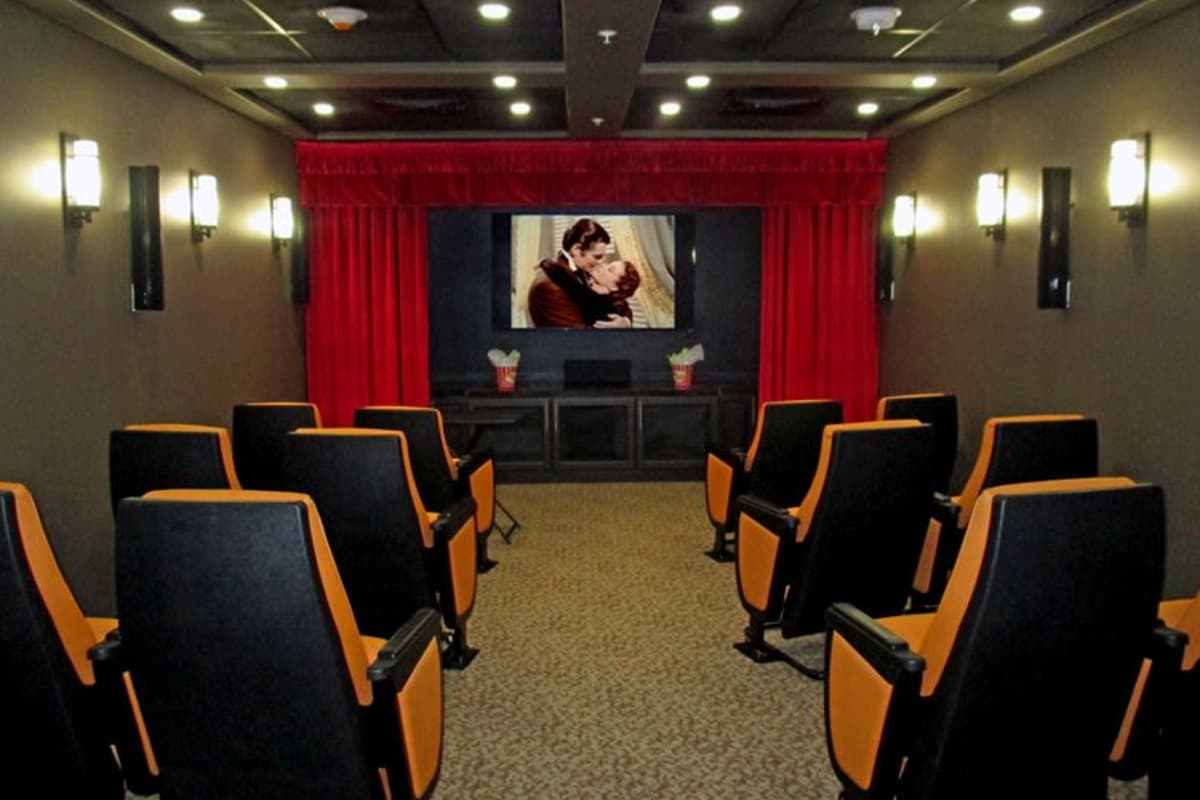 Theater at The Palms at La Quinta Assisted Living and Memory Care in La Quinta, California