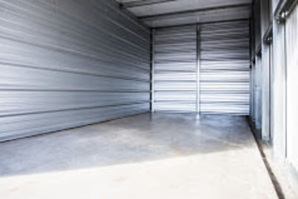 Spacious interior of storage units at Apple Self Storage - Thunder Bay - Intercity in Thunder Bay, Ontario