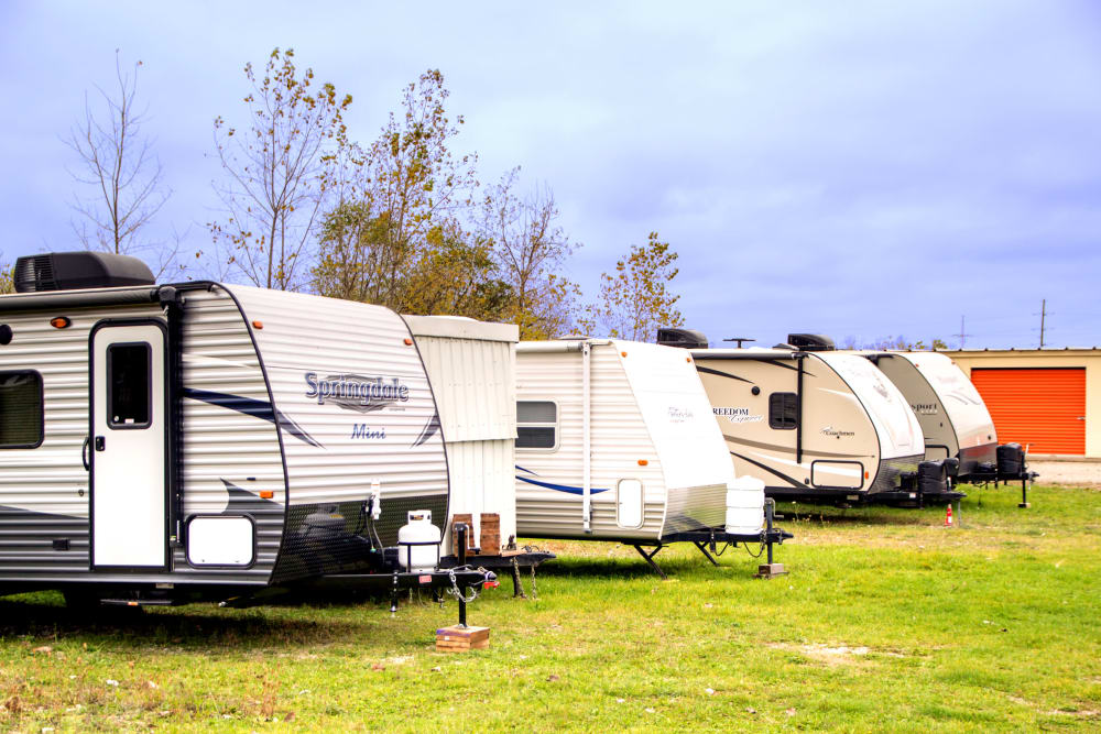 Store your RV, boat or auto with Prime Storage in Lansing, Michigan