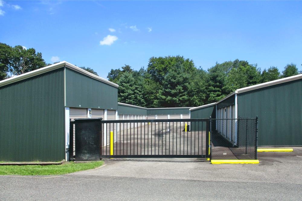 Gated entrance at Prime Storage in Montpelier, VA
