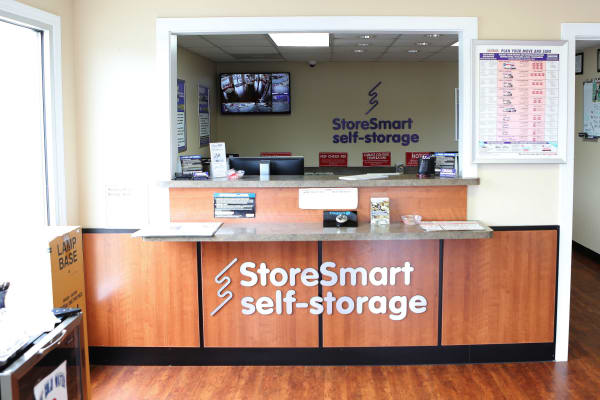 Office at StoreSmart Self-Storage in Riverdale, Georgia