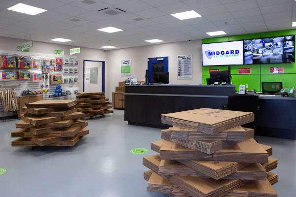 Storage Supplies at Midgard Self Storage in Columbia, SC