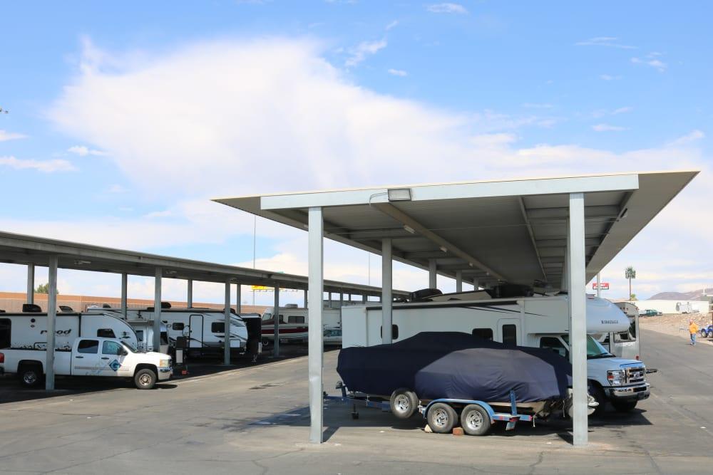 Covered RV, boat and auto storage in , Nevada