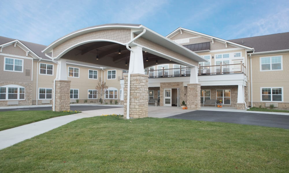 Exterior of Violet Springs Health Campus in Pickerington, Ohio