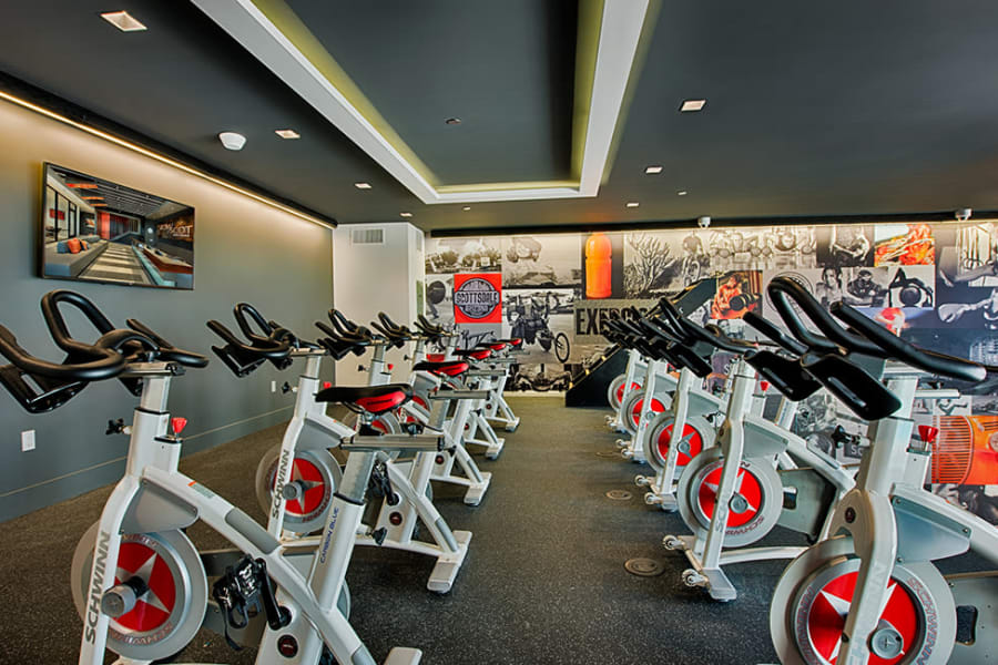 Workout room at The TOMSCOT in Scottsdale, Arizona