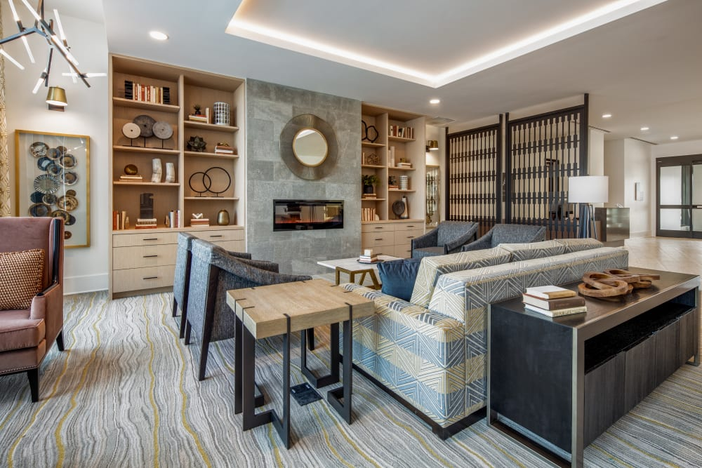 Cozy meeting area at Anthology of King of Prussia – Now Open in King of Prussia, Pennsylvania
