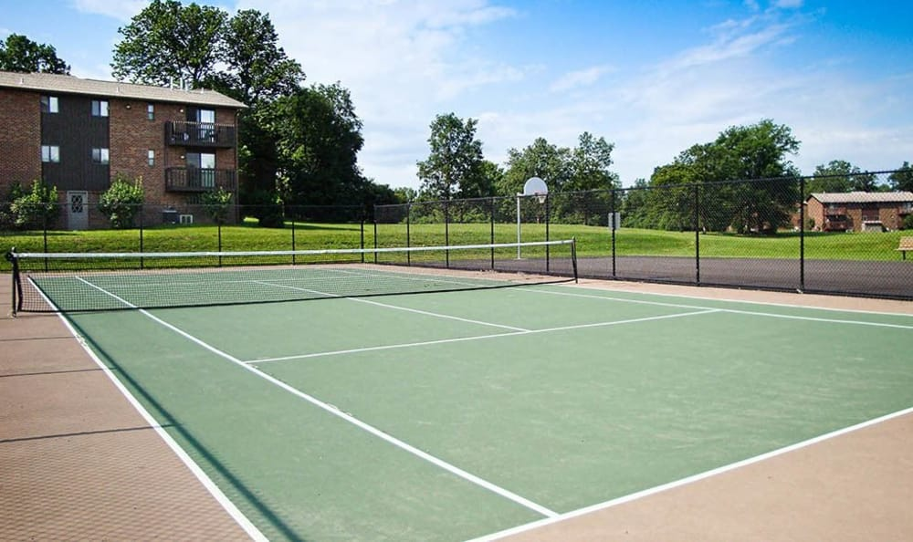 Tennis court at High Acres Apartments and Townhomes in Syracuse, NY