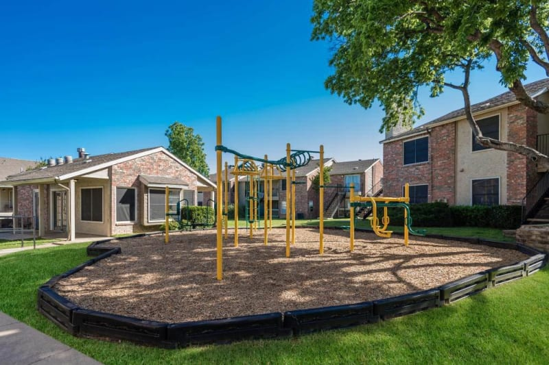 Park for children to play on at The Carling on Frankford in Carrollton, Texas