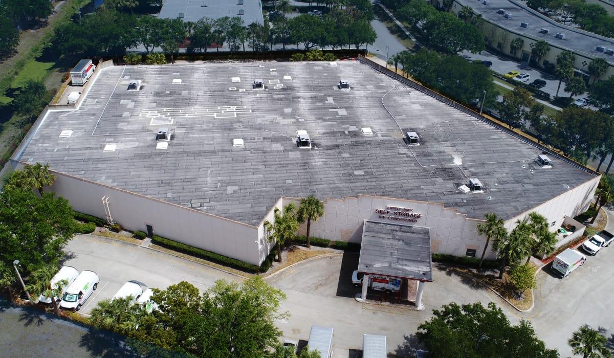 Exterior view at Jupiter Park Self Storage in Jupiter, Florida