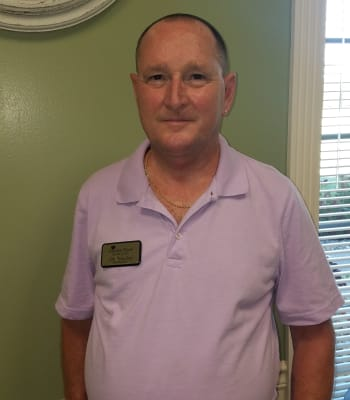Jim Frawley, Maintenance at Garden Place Columbia in Columbia, Illinois.