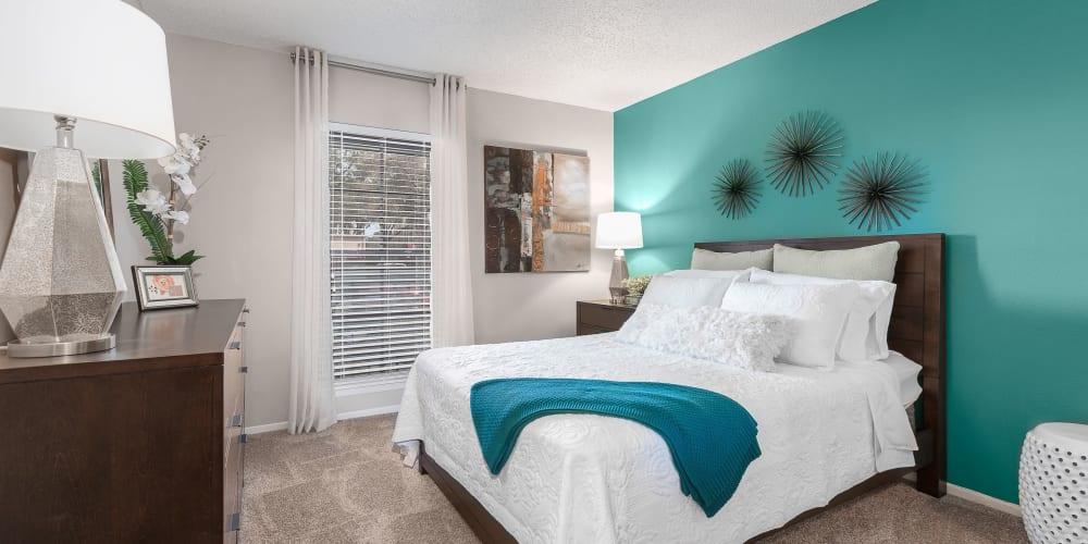 Beautiful bedroom  at Avion at Carrollwood in Tampa, Florida