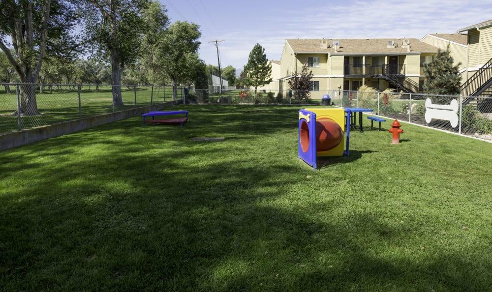 Bark park at Callaway Apartments in Taylorsville, UT
