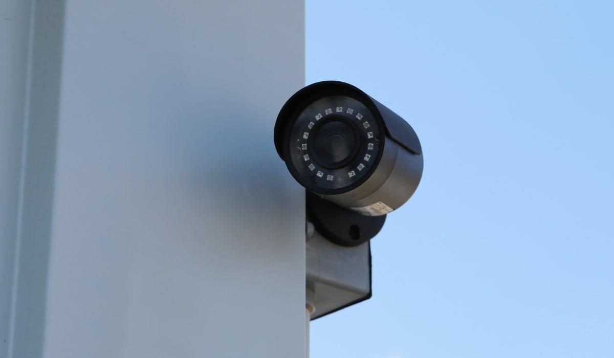 Security camera at Midgard Self Storage in Florence, Alabama