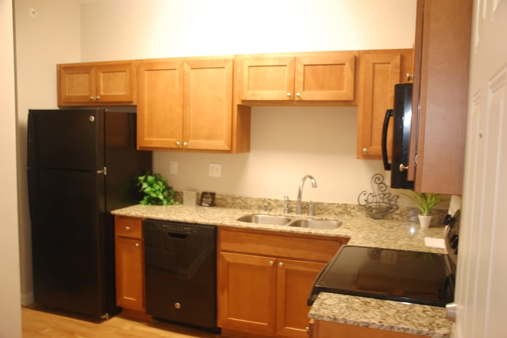 Apartments with a Kitchen at Pikeville Commons Apartments
