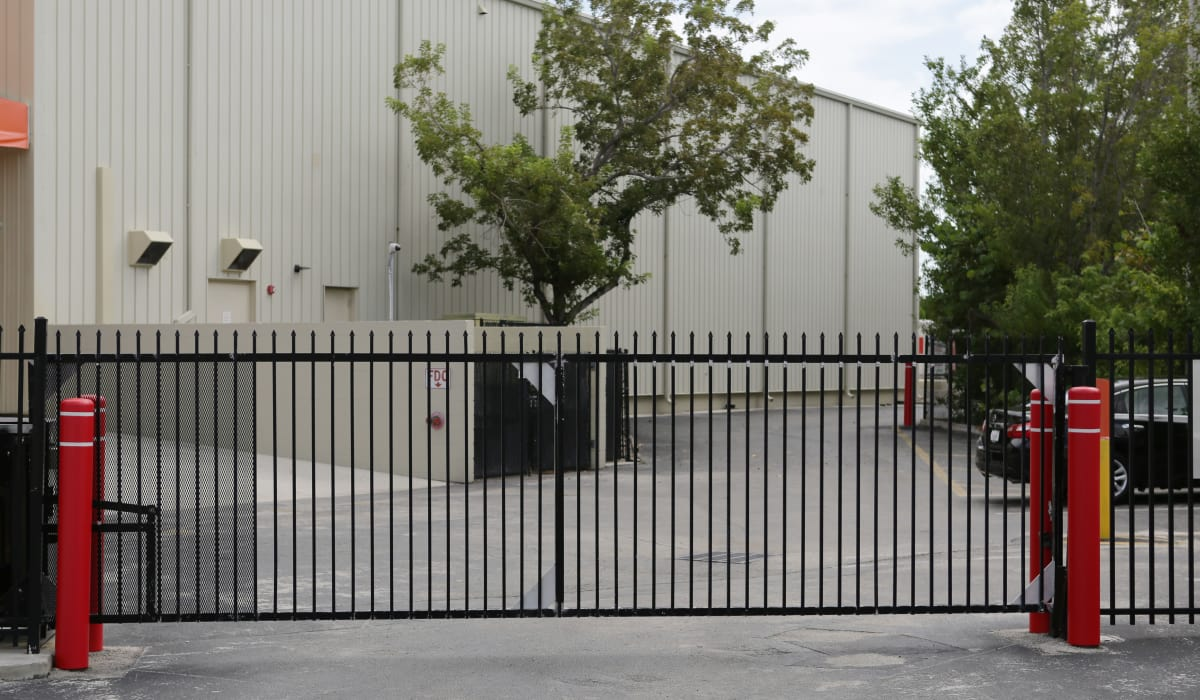 Exterior view of Midgard Self Storage in Key West, Florida