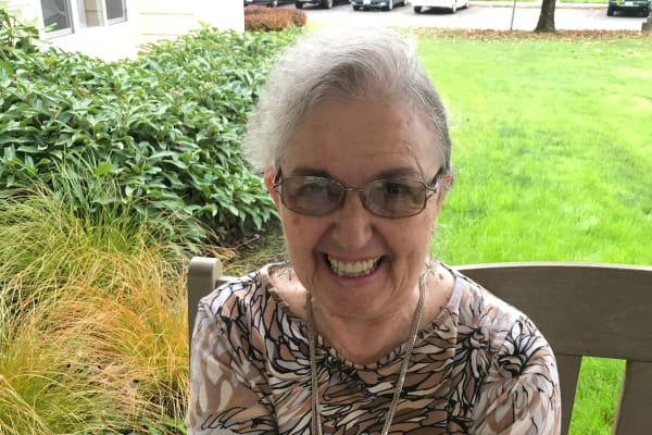 Karen Strand at Stoneybrook Assisted Living in Corvallis, Oregon