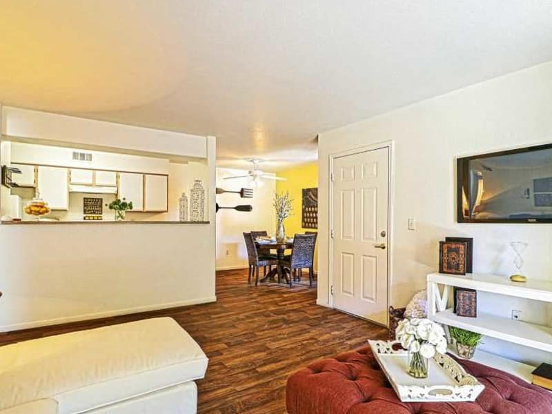 Spacious floor plans at Monterra Apartment Homes