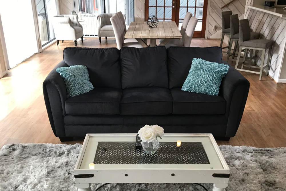 living room at Sandcastle Apartments