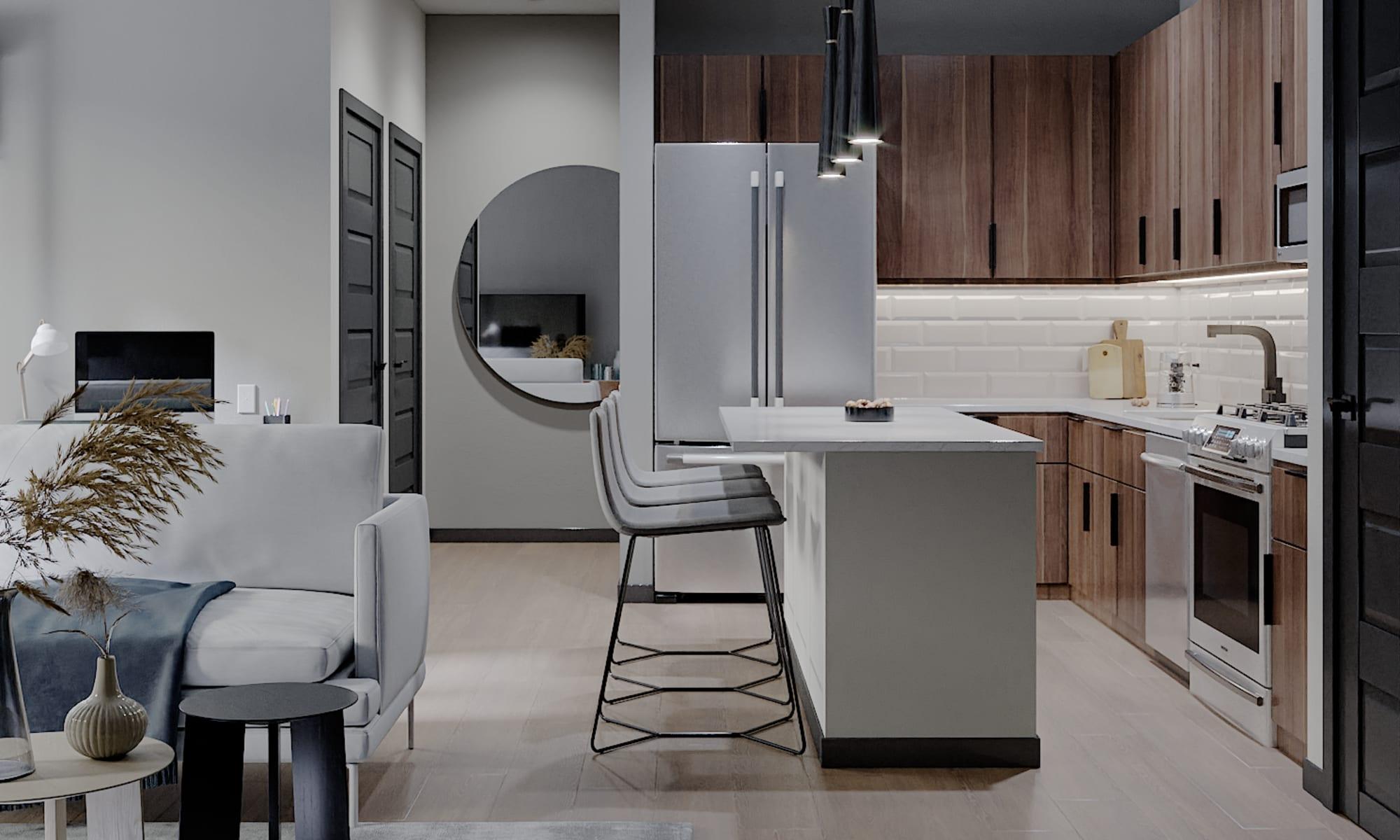 Luxury apartments at Solana Stapleton Apartments in Denver, Colorado