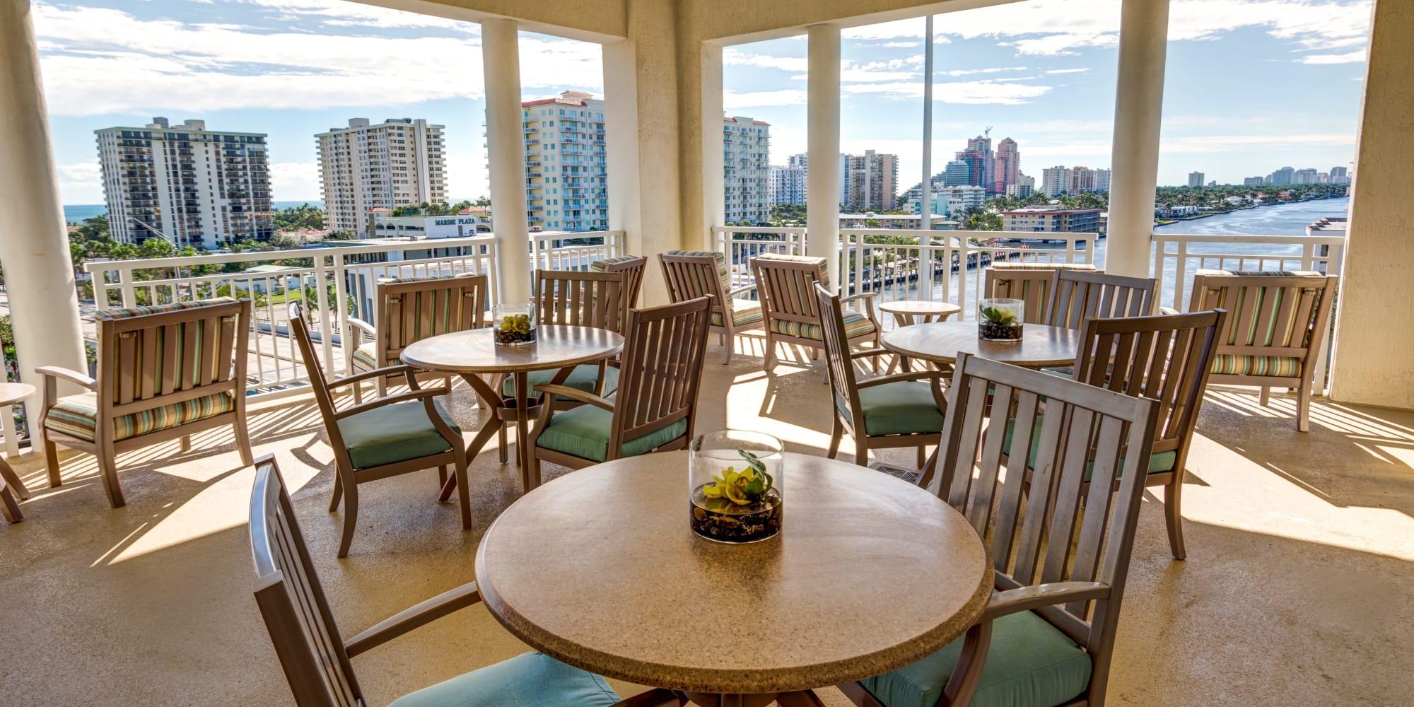 The Meridian at Waterways senior living in Fort Lauderdale, Florida