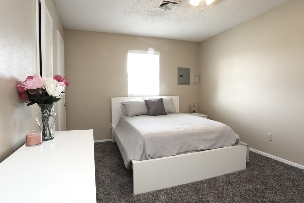 Bedroom at Sterling Park in Norman, Oklahoma