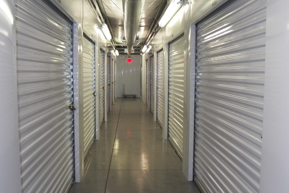 Temperatur-controlled storage at Breezy Hill Self Storage in Graniteville, South Carolina