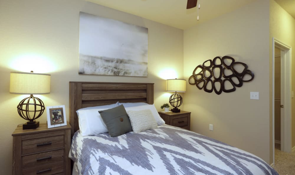 Relaxing Bedroom Suite at Springs at Round Rock