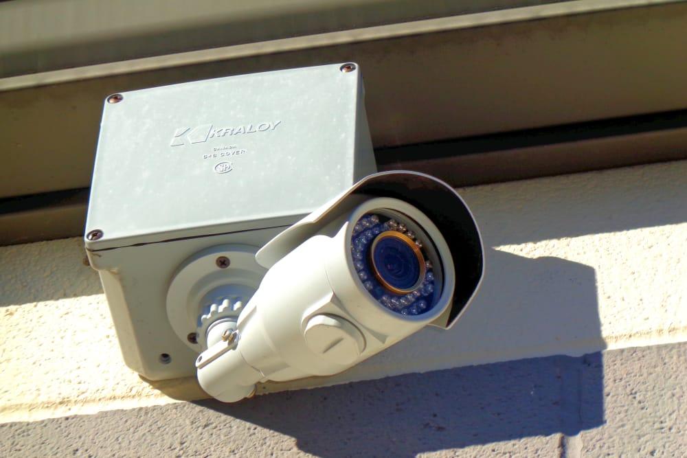 Security camera at Capital Self Storage in Harrisburg, PA