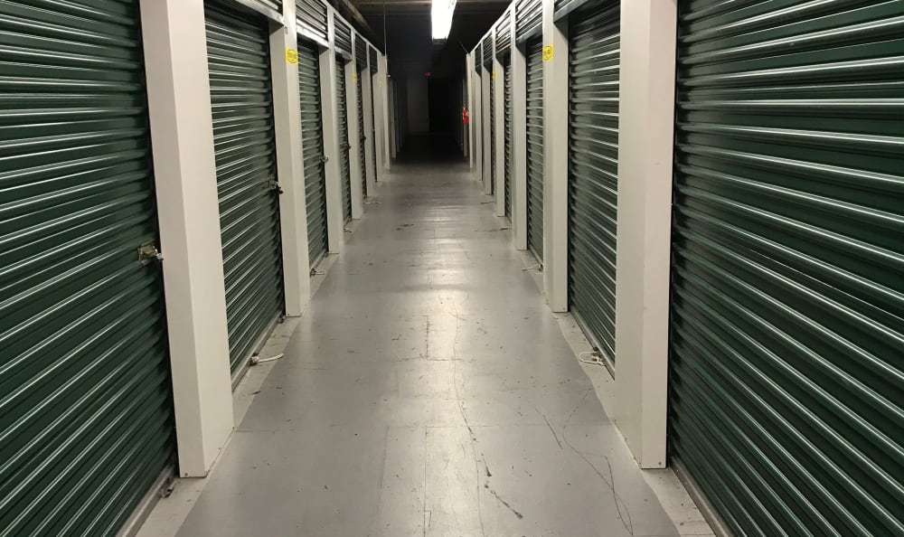 Indoor Units at Compass Self Storage in Taunton, MA