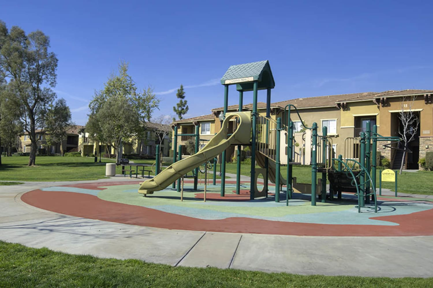 Camino Real offers a playground and play area for children in Rancho Cucamonga, California