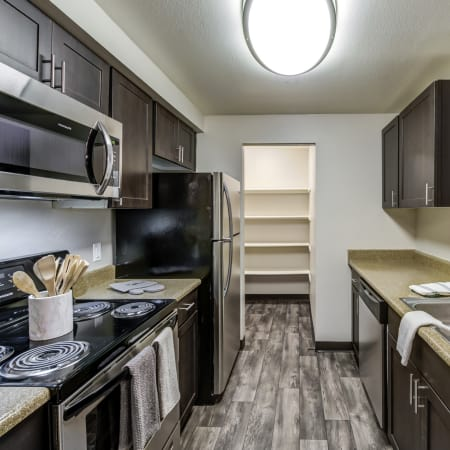 Floor plans at Olin Fields Apartments in Everett, Washington