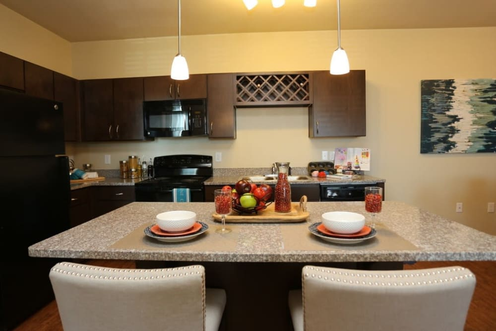 Chef Quality Kitchen at Springs at Alamo Ranch Apartments