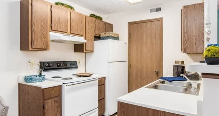 Kitchen at Enclave at Albany Park in Westerville, Ohio