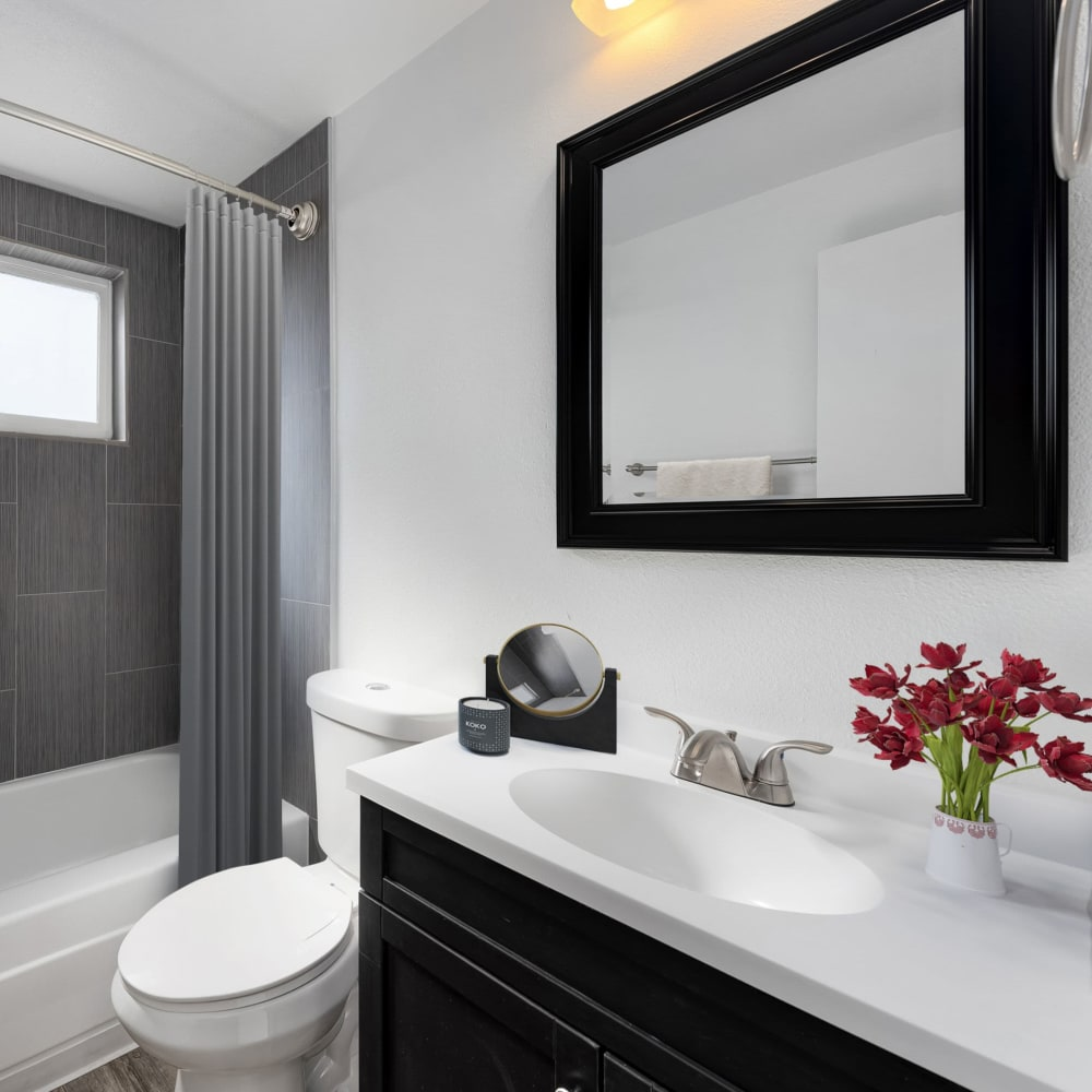 Large bathroom at Southglenn Place in Centennial, Colorado
