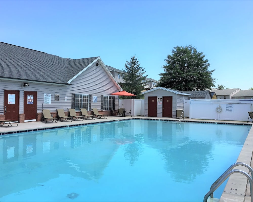 Large pool at Cypress Creek Townhomes