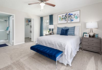 Relax in your bedroom at Verse at Royal Palm Beach in Royal Palm Beach, Florida