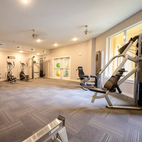 View virtual tour of our fitness center at Aspire at 610 in Houston, Texas