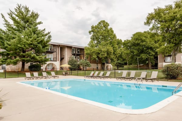 The Village at Crestview apartments in Madison, Tennessee