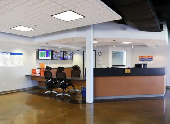 Leasing office at A-1 Self Storage in Alhambra, California