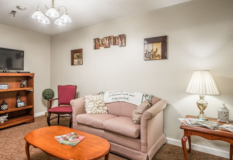 Senior living apartment at Randall Residence of Tiffin in Tiffin, Ohio