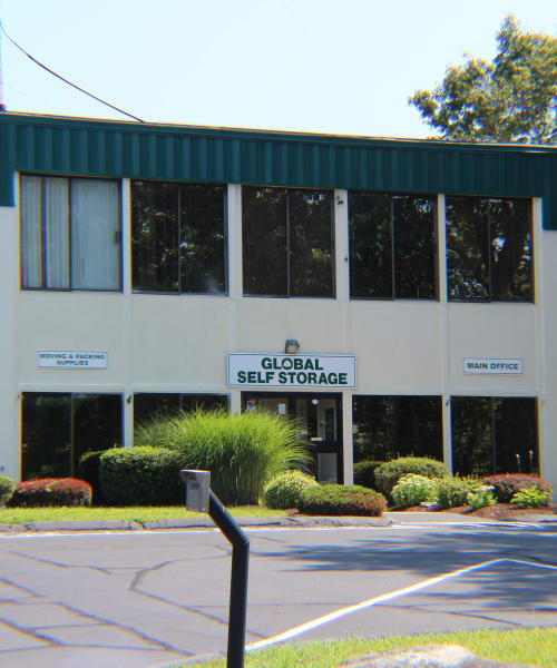 24-Hour Electronic Security Gates with Keycode Entry at Global Self Storage in Clinton, Connecticut