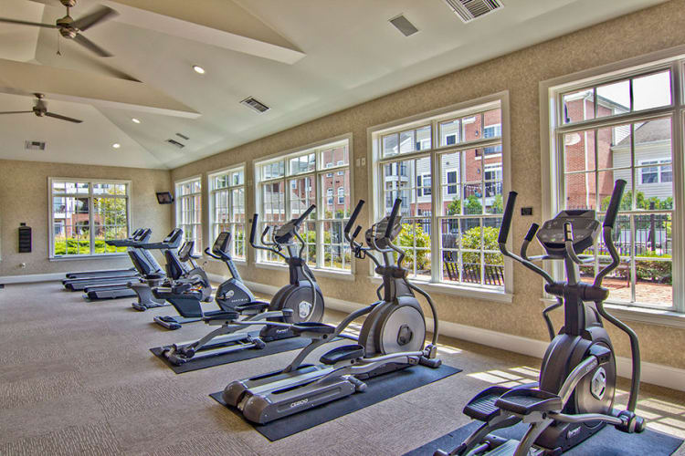 Stay healthy in our fitness center at Chelsea Place
