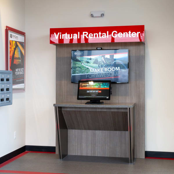 The virtual rental center available at StorQuest Express - Self Service Storage in Sonora, California