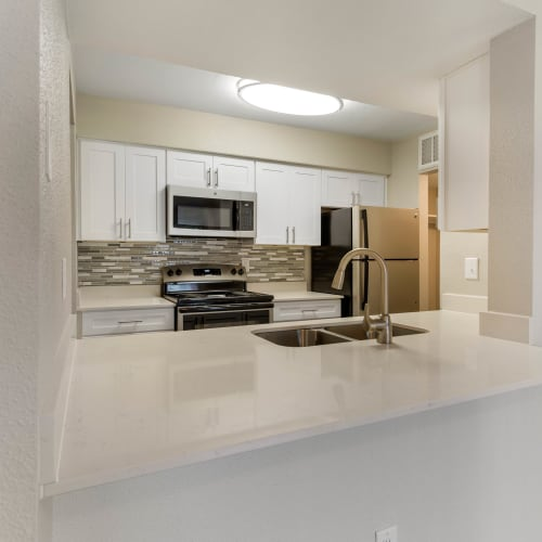View virtual tour for 1 bedroom 1 bathroom unit at Lodge @ 1550 in Katy, Texas