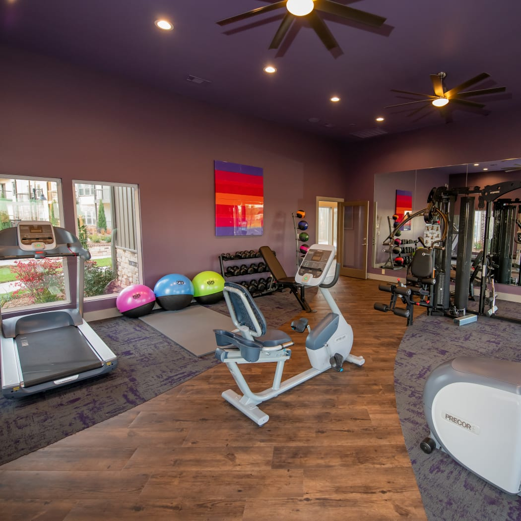 24-hour fitness center at Cedar Ridge in Tulsa, Oklahoma