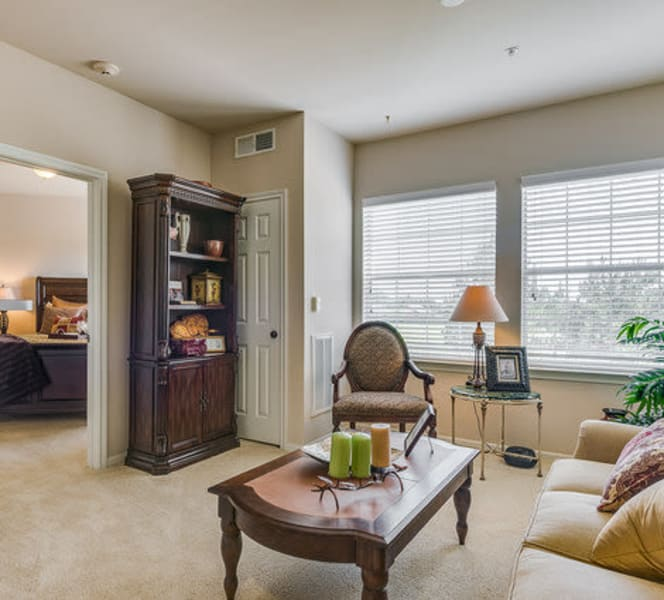 The inside of an apartment at Town Village in Oklahoma City, Oklahoma