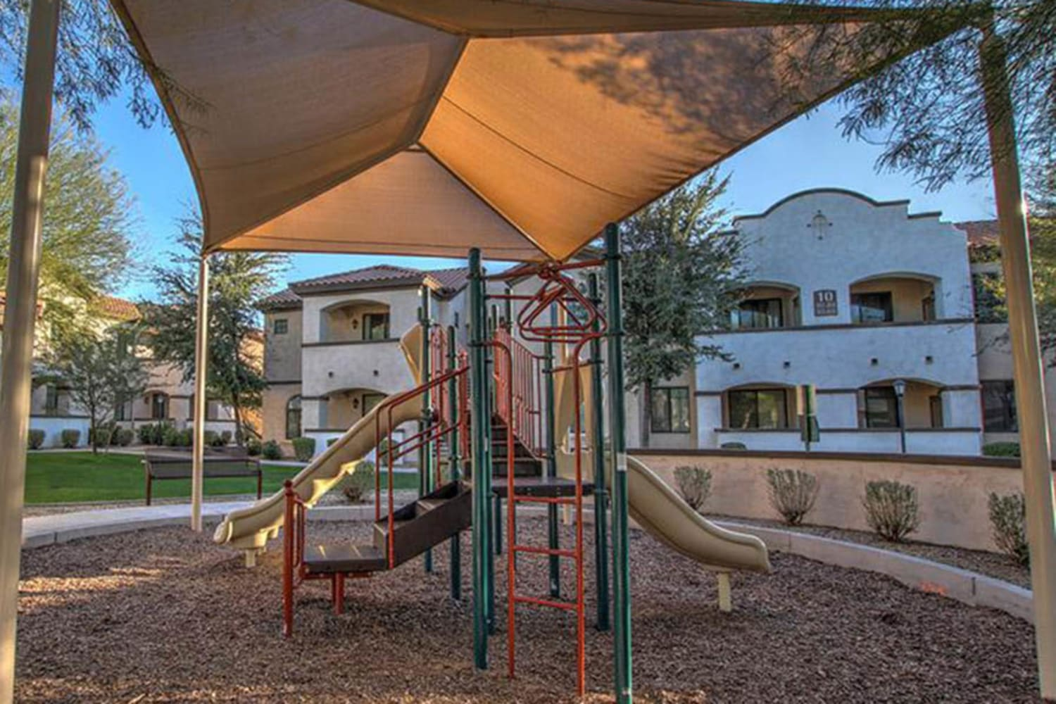 Dobson 2222 in Chandler, Arizona, offers a playground